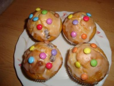 Muffins Mit Smarties Rezept Mit Bild Kochbar De