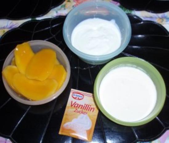 Mango-Sahne-Joghurt-Eis - Rezept - Bild Nr. 2