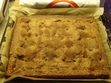 pflaumenkuchen mit zucker/zimt decke.... - Rezept