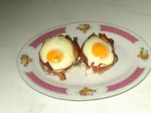 Eier im Schinkennest - Rezept