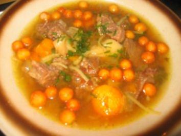Rezept: Suppe: Meine Rindfleischsuppe