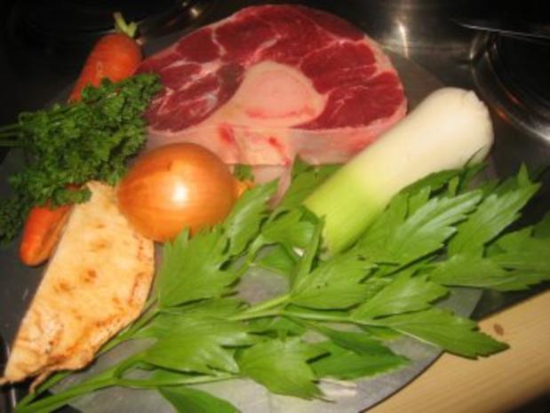 Suppe: Meine Rindfleischsuppe - Rezept - Bild Nr. 5