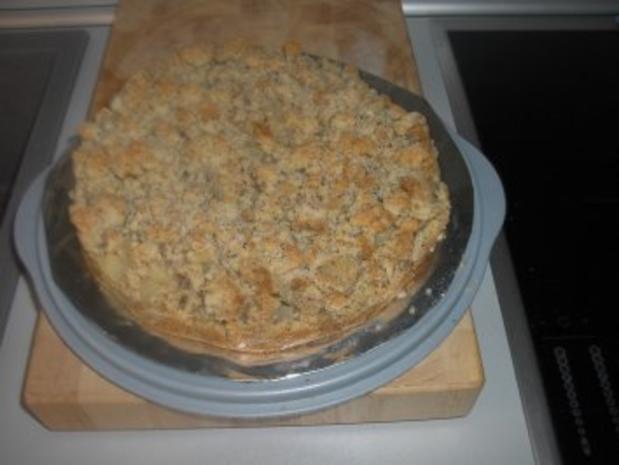 Streusel - Birnen - Kuchen - Rezept