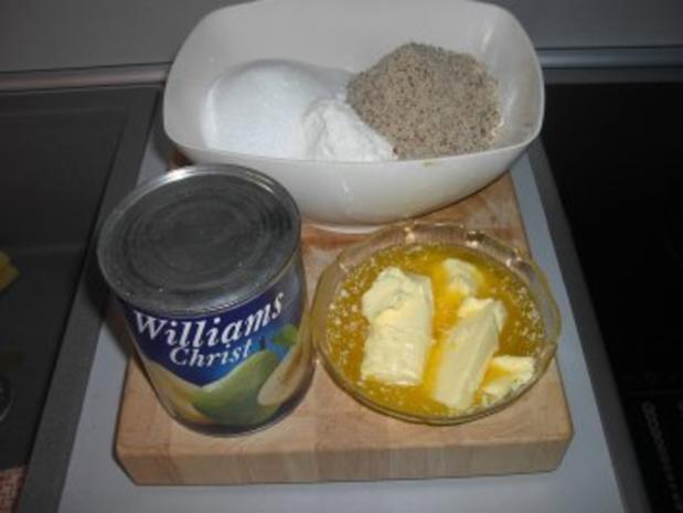Streusel - Birnen - Kuchen - Rezept - Bild Nr. 3