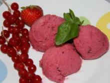 Dessert: Rote Grütze - Eis - Rezept