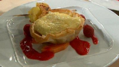 Sate und Tartelett von der Ananas und Chili à la Baudrexel - Rezept