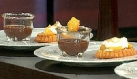 Sate und Tartelett von der Ananas und Chili (Désirée Saak) - Rezept
