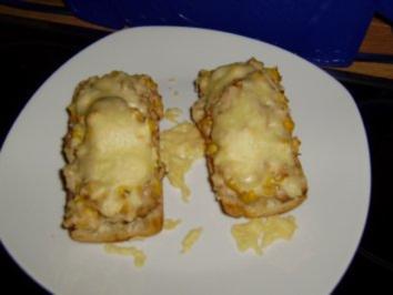 Rezept: Bärbel's Thunfisch-Mais-Baguette
