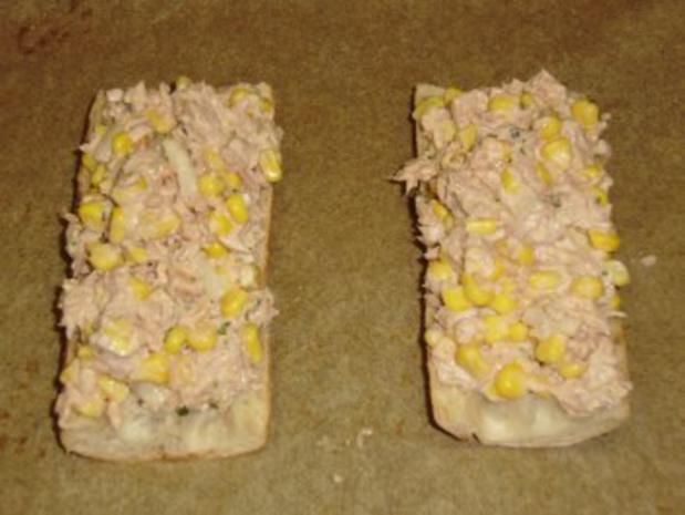 Bärbel's Thunfisch-Mais-Baguette - Rezept - Bild Nr. 3