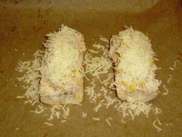 Bärbel's Thunfisch-Mais-Baguette - Rezept - Bild Nr. 4