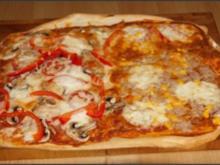 Pizza nach Wunsch und hausgemacht - Rezept