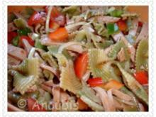 Salat - Nudel-Fleischwurst-Salat - Rezept