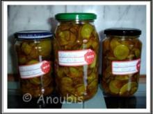 Eingelegtes - Zucchini süß-sauer - Rezept