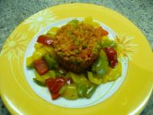 Reis nach Djuvec Art - Rezept