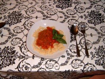 Schnelle Tomatensauce - Rezept
