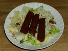 Schneller Salatteller - Rezept