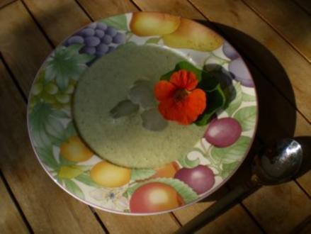 geeiste Gurken Suppe - Rezept