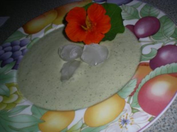 geeiste Gurken Suppe - Rezept - Bild Nr. 4