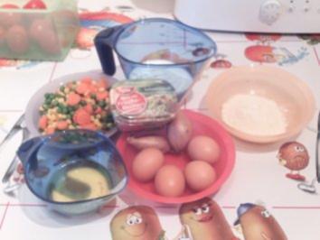 Gemüse-Frittata - Rezept