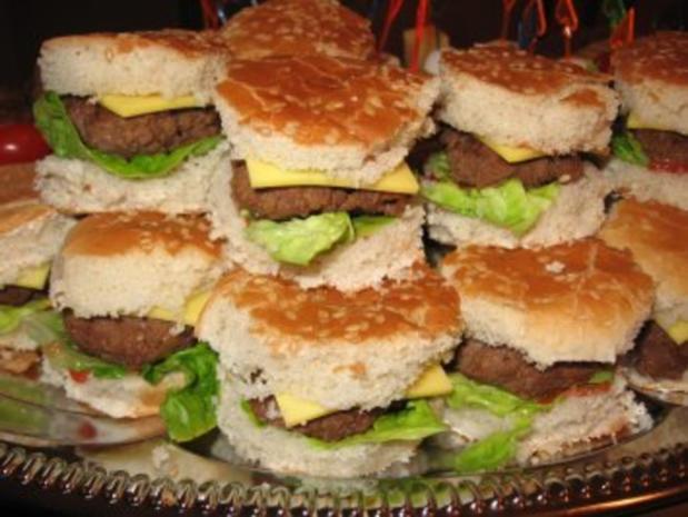 Mini- Party- Cheeseburger - Rezept - Bild Nr. 2