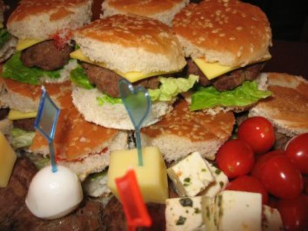 Mini- Party- Cheeseburger - Rezept - Bild Nr. 3