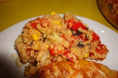 Hirse-Salat - Rezept