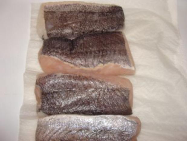Fisch : -Merluzafilet mit Haut gebraten - Rezept - Bild Nr. 4