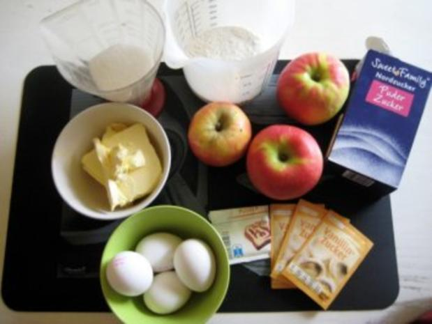 Französischer Apfelkuchen aus der Bretagne - Rezept - Bild Nr. 2