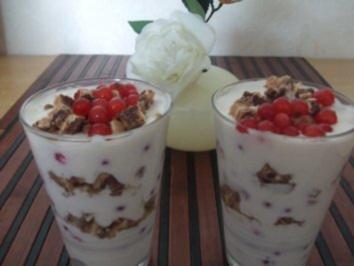 Johannisbeer Dessert - Rezept