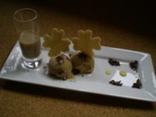 Eis: Baileys Capuccino Eiscreme - Rezept