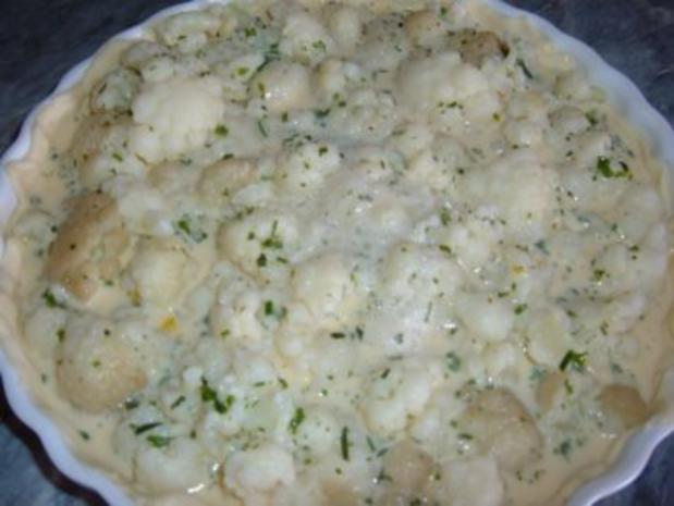 Blumenkohl - Blätterteig -Torte - Rezept - Bild Nr. 4