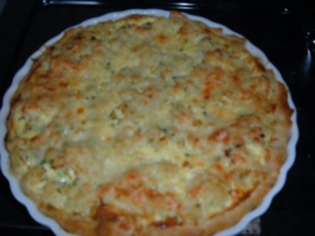 Blumenkohl - Blätterteig -Torte - Rezept