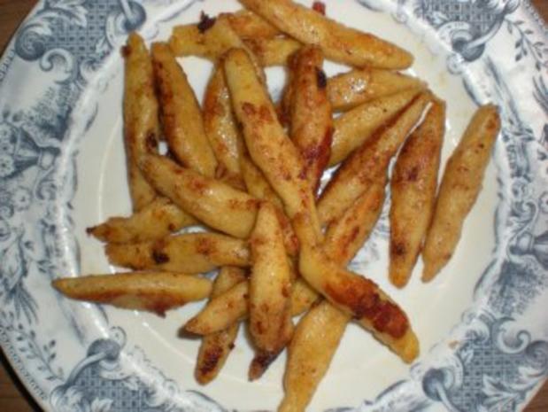 Kartoffeln: Schupfnudeln so wie ich sie am liebsten mag :) - Rezept