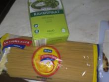 Spinat Spaghetti - Rezept