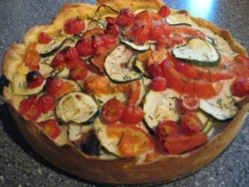Tomaten Zucchini Quiche Rezept Mit Bild Kochbar De