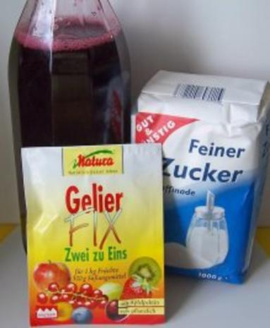 Einmachen: Sauerkirsch-Gelee - Rezept