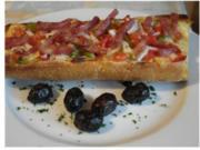 Baguette ... als Pizzaersatz - Rezept