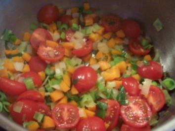 Feurige Gemüsesoße - Rezept