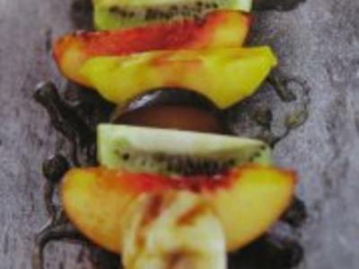 Fruchtspieße - Rezept