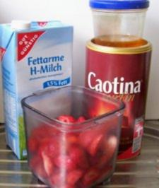 Getränk: Erdbeer-Schoko-Milch - Rezept
