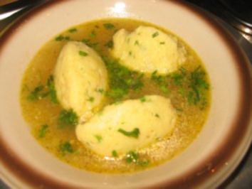 Suppe: Schnittlauch-Grießnockerlsüppchen - Rezept