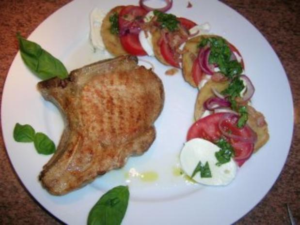 Salat von der Knödelrolle- mediterran angehaucht, echt lecker und keine Restaurantportion - Rezept - Bild Nr. 3