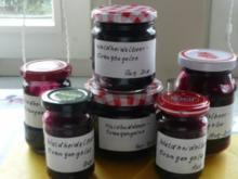 Marmelade: Waldheidelbeer - Orangengelee - Rezept