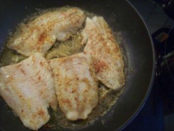 Überbackenes Fischfilet - Rezept