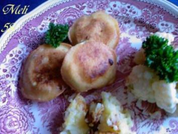 Beilagen: Zucchini-Parmesan Taler - Rezept