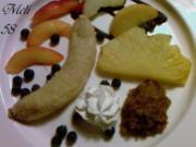 Grillen: Obst vom Grill mit Nußpesto - Rezept