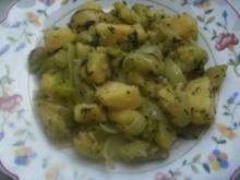 Zuchini-Kartoffel-Pfännchen - Rezept