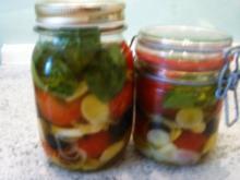 Tomaten eingelegt - Rezept