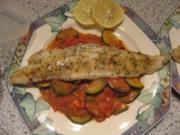 Fisch- Italienischer Steinbeisser - Rezept