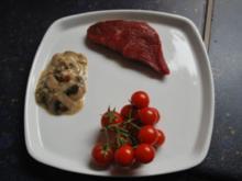 Steak mit Pilzen ala Thomas - Rezept